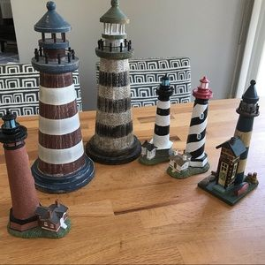 Other - Lighthouse Accent Pieces 6 Items